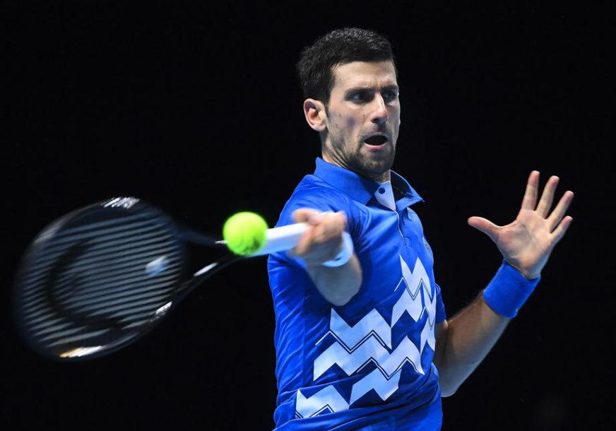 NOVAK SITNO BROJI Iako odmara teniser se približava najvažnijem rekordu