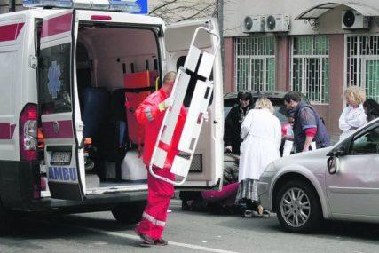 Drama na putu: Udario biciklistu na pješačkom prelazu