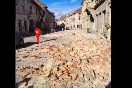 PRIZOR LEDI KRV U VENAMA Bolni vrisci majke odzvanjaju Petrinjom, u zemljotresu stradala djevojčica (VIDEO)