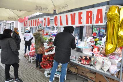 DANAS SKUPLJENO 3.000 EVRA Humani Prijedorčani u akciji za jednogodišnjeg Olivera