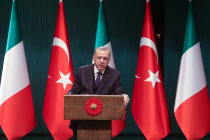 SPOR OKO ISTRAŽIVANJA SREDOZEMLJA Erdogan: Ankara neće ustuknuti pred prijetnjama