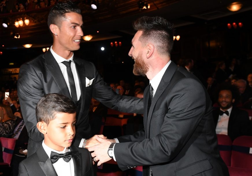 ONI STVARAJU ISTORIJU Barselona najavila meč protiv Juventusa slikom Mesija i Ronalda