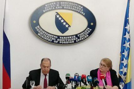 """""""OHR TREBA DA NAPUSTI BiH"""" Lavrov je ovo rekao na sastanku sa Biserom Turković u Sarajevu"""