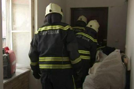 DRAMA U SISKU Porodica ostala ZAROBLJENA nakon zemljotresa, spasavali ih vatrogasci (VIDEO)