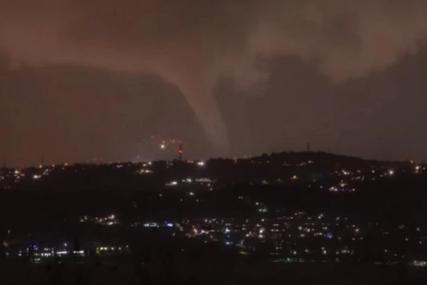 """""""KAO SUDNJI DAN"""" Oluja u Sloveniji obarala stabla, padao grad, formirao se i TORNADO (FOTO, VIDEO)"""