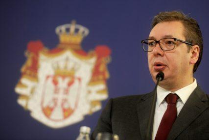"""""""LIČNI STAVOVI DŽAFEROVIĆA I KOMŠIĆA NISU STAV BIH"""" Vučić poručio da se problemi ne mogu rješavati bez razgovora"""