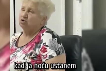 """""""TREBALO BI DA SMRŠAM"""" Razgovor bake Dragica i unuka o hrani postao hit na društvenim mrežama (VIDEO)"""