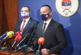"""""""BEZBJEDNOSNE AGENCIJE MORAJU BITI NA OPREZU"""" Lukač i Vulin saglasni da opasnost od terorizma uvijek postoji"""