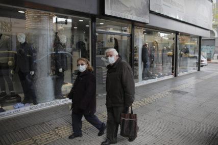 NIŠTA OD OPUŠTANJA Grčka ponovo zatvara radnje, srednje škole i dalje onlajn