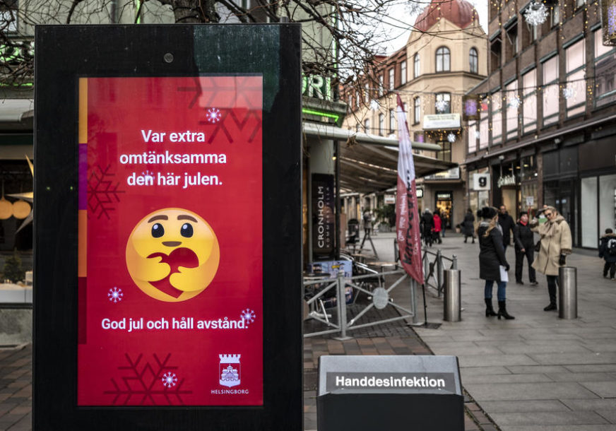OD PETKA REGISTROVANO 22.319 INFEKCIJA U Švedskoj potvrđena još 174 smrtna slučaja