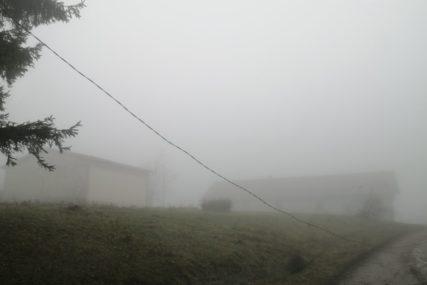ŽUTI METEOALARM Upozorenje za Sarajevo i Tuzlu zbog magle po kotlinama