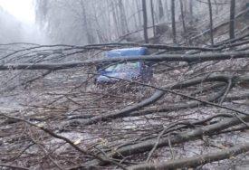 LEDENA KIŠA IZAZVALA HAOS U naselju pored Banjaluke padalo drveće, bez struje više od 30 sati