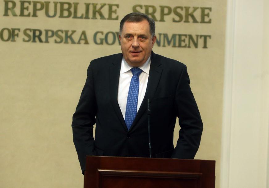 Dodik: Prvi mart 1992. bio je prvi pucanj u BiH