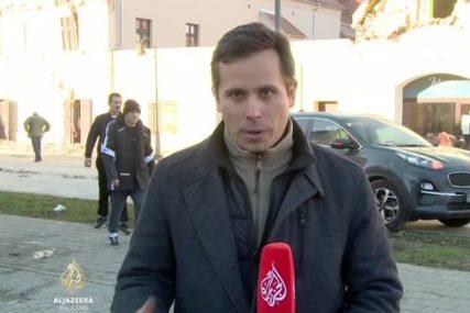 Novinar izvještavao iz RAZRUŠENE PETRINJE, a onda se desio NOVI ZEMLJOTRES (VIDEO)