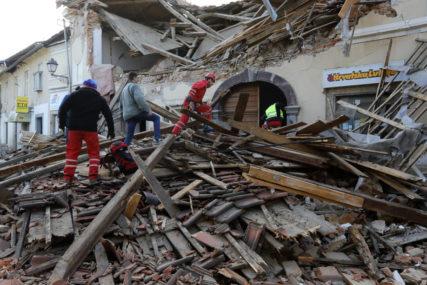 KONTROLA NASIPA NAKON ZEMLJOTRESA Nema opasnosti od poplava na području Siska i Petrinje