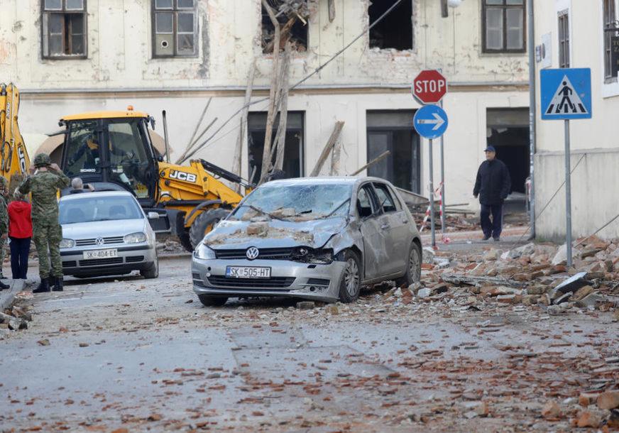 JOŠ JEDAN POTRES KOD PETRINJE Registrovan zemljotres jačine TRI STEPENA Rihterove skale