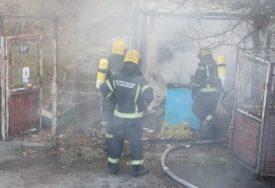 UZROK JOŠ NEPOZNAT Ugašen požar na porodičnoj kući