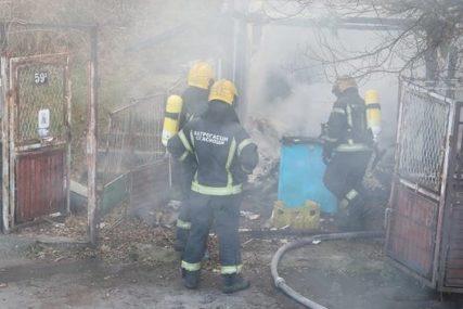 STRADALI ZBOG NEISPRAVNOG ODŽAKA Završen uviđaj jezivog požara u kojem su izgorjeli supružnici
