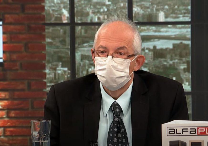 """""""Vakcinacijom do 1.000.000 ljudi pravimo KOLEKTIVNI IMUNITET"""" Dr Kon tvrdi da neće biti skorijeg ublažavanja mjera"""