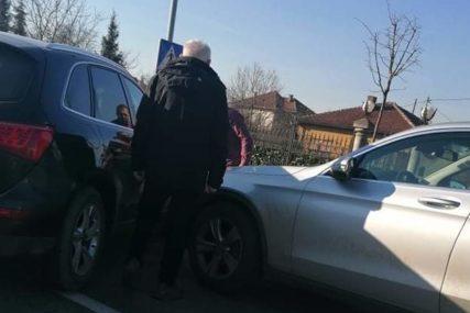 NEZGODA U LAZAREVU Sudar dva automobila, nema povrijeđenih