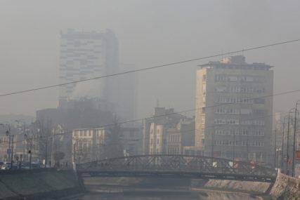 """PROGLAŠENA EPIZODA """"UPOZORENJE"""" Povećana koncentracija zagađujućih materija u vazduhu"""