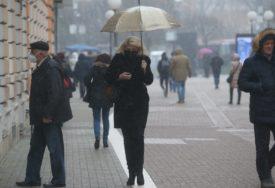 PROGNOZA DO KRAJA SEDMICE Spremite se na hladnoću, kišu i mraz
