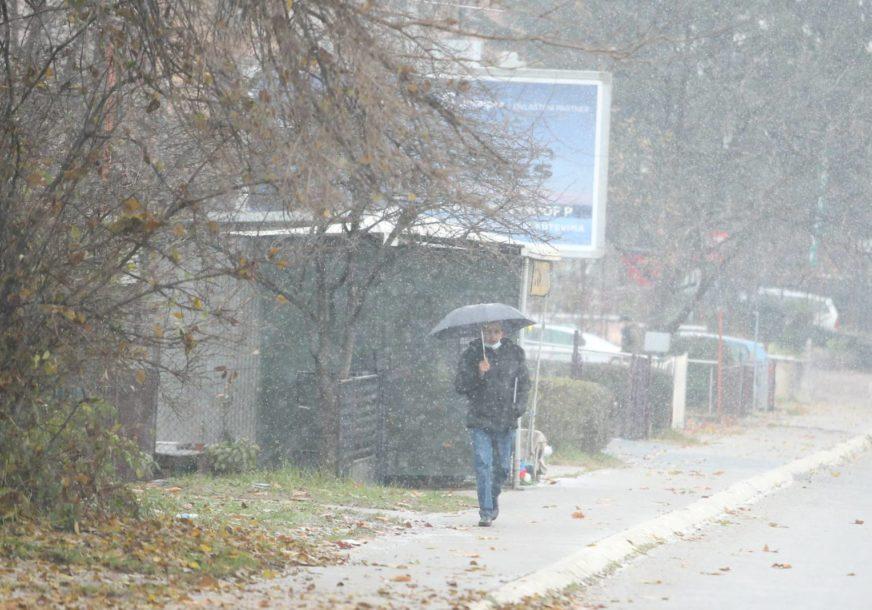 GORI ŽUTI METEOALARM Na snazi upozorenje za šire područje BiH zbog obilnih padavina