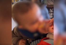 ŽELJKOVE GRIMASE NASMIJALE MNOGE Veljko Ražnatović se našalio na sinov račun i dao mu da proba limun (VIDEO)