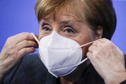 Merkelova jasna: Njemačka spremna za sankcije Rusiji, stav o gasovodu nepromijenjen