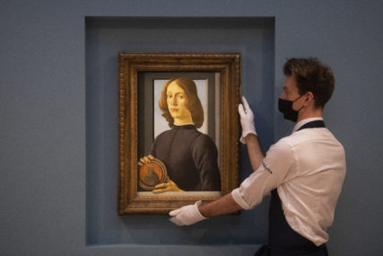 OBOREN REKORD Botičelijeva slika prodata na aukciji za 92 miliona dolara (FOTO)