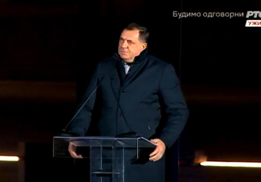 """Dodik na svečanosti otkrivanja spomenika Stefanu Nemanji: """"Srbi su davno shvatili da BEZ DRŽAVE NEMA SLOBODE"""""""