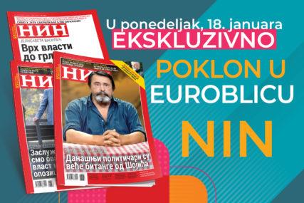 """UZ """"EUROBLIC"""", NIN DOBIJATE BESPLATNO Novi poklon za čitaoce 18. januara"""