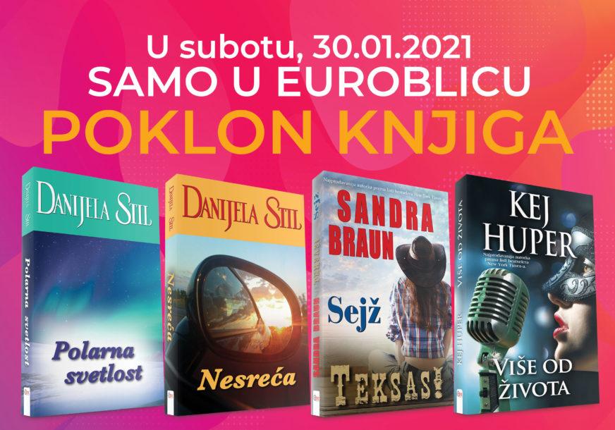 """POKLON I POSLJEDNJEG VIKENDA U JANUARU Uz """"EuroBlic"""" dobijate nove knjige Danijele Stil, Sandre Braun i Kej Huper"""
