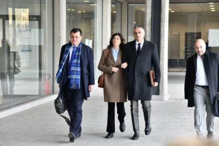 ISTRAGA PROTIV MIKE ALEKSIĆA SE NASTAVLJA Iva Ilinčić stigla u Palatu pravde u Beogradu na saslušanje