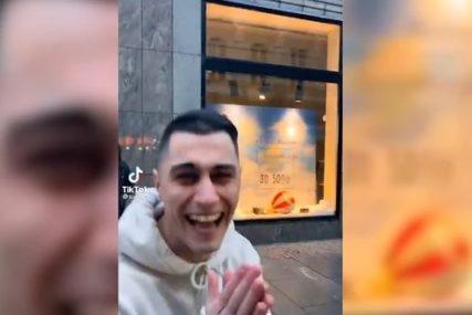 """SKANDAL Bivši učesnik rijalitija se PODSMIJEVA I MALTRETIRA radnika """"Gradske čistoće"""" (VIDEO)"""