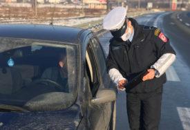 Upućen apel vozačima da prilagode vožnju: U narednoj sedmici akcija pojačane kontrole saobraćaja