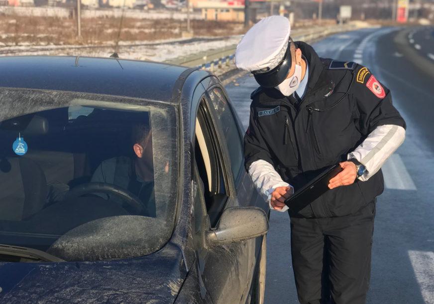PRESRETAČ UHVATIO REKORDERA Vozio 175 kilometara na čas kod Kotor Varoša