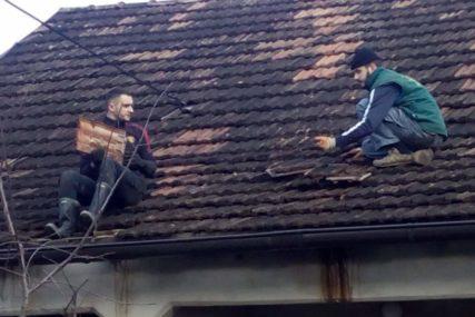 SVI IM SE DIVE Heroji iz Kostajnice više vremena proveli na krovovima nego na zemlji