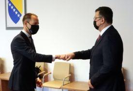 """TEGELTIJA RAZGOVARAO SA DIREKTOROM TRANSPORTNE ZAJEDNICE """"Ekonomsko jačanje BiH kroz razvoj puteva i željeznice"""""""