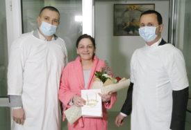 TREĆE DIJETE U PORODICI Gradonačelnik Trebinja darovao malu Milicu, prvorođenu bebu u Trebinju