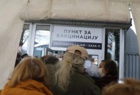Dato skoro milion doza vakcina: Vakcinisano 40 odsto punoljetnih građana Beograda