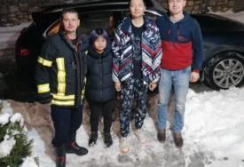 IZGUBILI SE PRATEĆI NAVIGACIJU Vatrogasci iz Vlasenice spasli kineske turiste