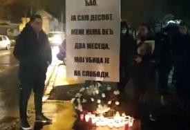 TUGA LOMI SRCE Bolne scene večeras u Zemunu, na mjestu gdje je stradao četvorogodišnji Despot