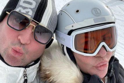 UŽIVAJU U ZIMSKOJ IDILI Đanijeva Slađa nakon moždanog udara odmara na Kopaoniku