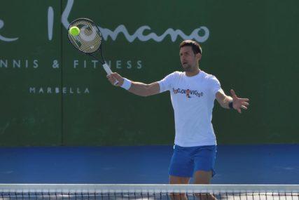 NE OČEKUJE PROMJENE Legendarni teniser vjeruje u dominaciju Đokovića i Nadala
