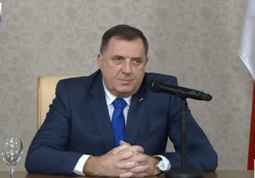 """""""Siguran sam da ćete biti mudar i odgovoran duhovni vođa našeg naroda"""" Dodik čestitao novoizabranom patrijarhu Porfiriju"""