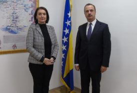 """AFERA """"IKONA"""" Glavna tužiteljka BiH razgovarala sa ukrajinskim ambasadorom"""