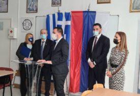 OTVOREN PRVI GRČKI KUTAK U RS Gradonačelnik Doboja ugostio ambasadora Papandreua i ministra Klokića (FOTO)