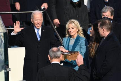 BAJDEN I HARIS POLOŽILI ZAKLETVE Zvanično postali novi predsjednik i potpredsjednica SAD (FOTO, VIDEO)