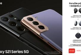PORUČITE PRIJE SVIH I DOBIJATE POKLON Najnovije uređaje Samsung Galaxy S21 serije u M:TEL-u možete da rezervišete već danas